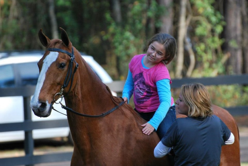 Group Horseback Riding Lessons Brunswick GA